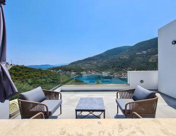 villa roya sivota lefkada greece upper level balcony