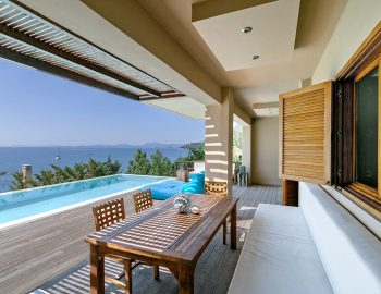 villa-scorpios-pogonia-paleros-greece-pool-side-seating-and-dining