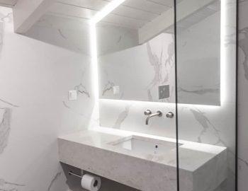 villa sky sivota lefkada greece designer bathroom