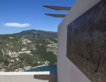 villa sky sivota lefkada greece designer logo