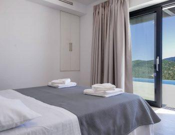 villa sky sivota lefkada greece double bedroom with pool view