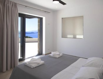 villa sky sivota lefkada greece double bedroom with sea views