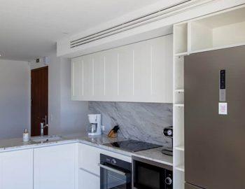 villa sky sivota lefkada greece kitchen area