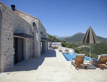 villa sky sivota lefkada greece outdoor private area