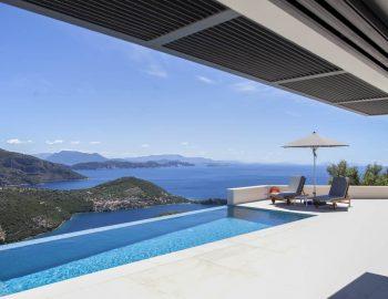 villa sky sivota lefkada greece pool and sea views