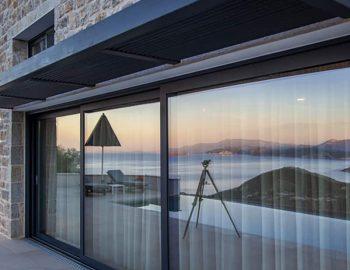 villa sky sivota lefkada greece sunset views