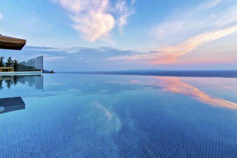 villa-blue-infinity-sivota-greece-sunset